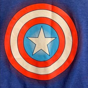 Cool Captain America shirt!